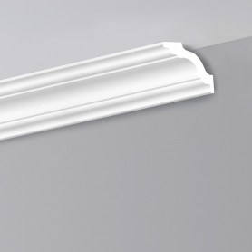 Cornice liscia in polistirolo LD80C