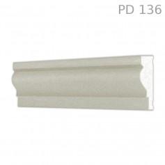 Marcapiano in polistirolo rivestito PD136