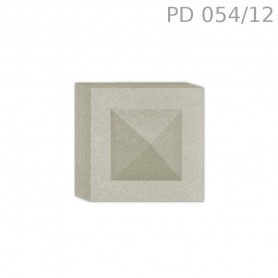 Tozzetto in polistirolo rivestito PD054/12