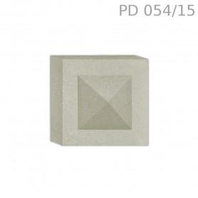 Tozzetto in polistirolo rivestito PD054/15
