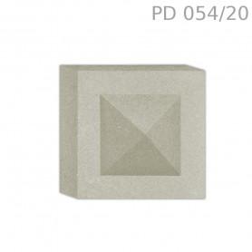 Tozzetto in polistirolo rivestito PD054/20