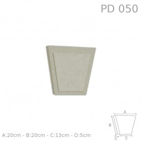 Chiave centrale in polistirolo rivestito PD050