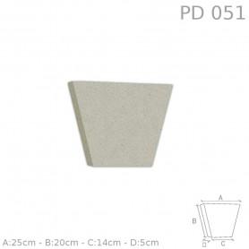Chiave centrale in polistirolo rivestito PD051