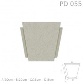 Chiave centrale in polistirolo rivestito PD055