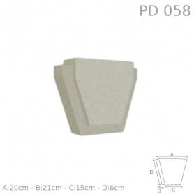 Chiave centrale in polistirolo rivestito PD058