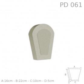 Chiave centrale in polistirolo rivestito PD061