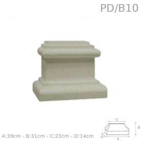 Base in PSE rivestito PD/B10