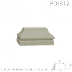 Base in polistirolo rivestito PD/B12
