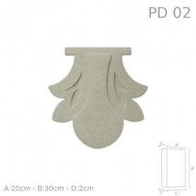 Decorazione in polistirolo rivestito PD02