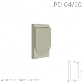 Decorazione in polistirolo rivestito PD04/10