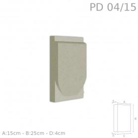 Decorazione in polistirolo rivestito PD04/15