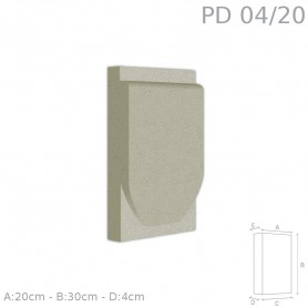 Decorazione in polistirolo rivestito PD04/20