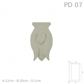 Decorazione in polistirolo rivestito PD07