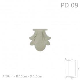 Decorazione in polistirolo rivestito PD09