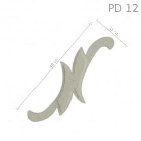 Decorazione in polistirolo rivestito PD12