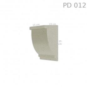 Supporto in polistirolo rivestito PD012