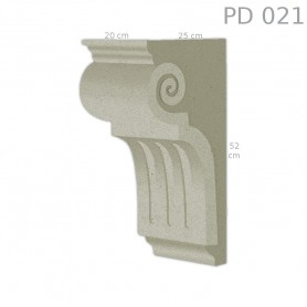 Supporto in polistirolo rivestito PD021