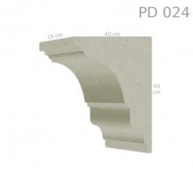 Supporto in polistirolo rivestito PD024