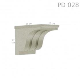 Supporto in polistirolo rivestito PD028