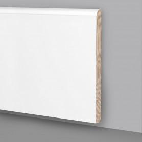 Battiscopa legno laccato bianco MA6931