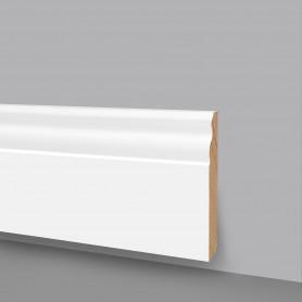 Battiscopa MDF laccato bianco 6007/80