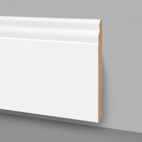 Battiscopa MDF laccato bianco 6007/140