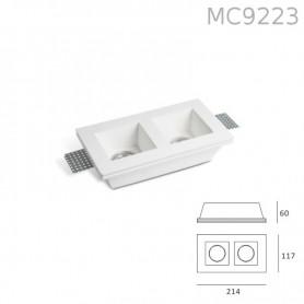 Faretto in Gesso MC9223