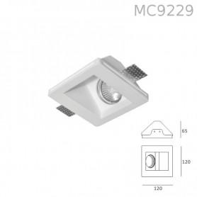 Faretto in Gesso MC9229