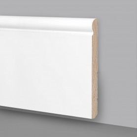 Battiscopa legno laccato bianco MA6937