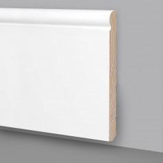 Battiscopa legno laccato bianco MA6938