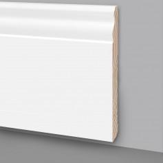 Battiscopa legno laccato bianco MA7048