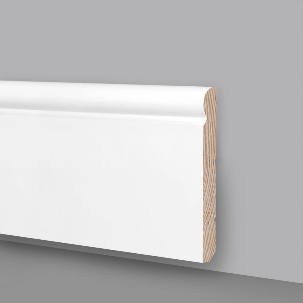 Battiscopa In Legno Bianco battiscopa legno laccato bianco ral9003 ma6935