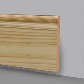 Asta da 2,4 m di Battiscopa in legno Grezzo Art. 6738GR