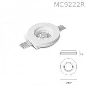 Faretto in Gesso MC9222R